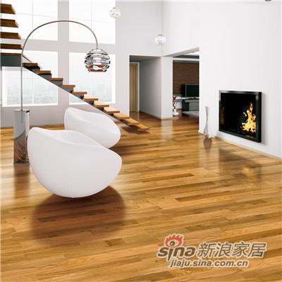 德合家BEFAG三层实木复合地板B55620柏林风格三拼橡木