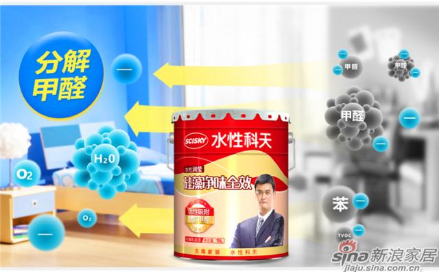 水性润莹硅藻净味全效内墙乳胶漆15L-15