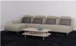 红苹果简约现代转角布艺沙发