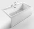 和成卫浴1.7米压克力裙边龙头浴缸 - F1700Q