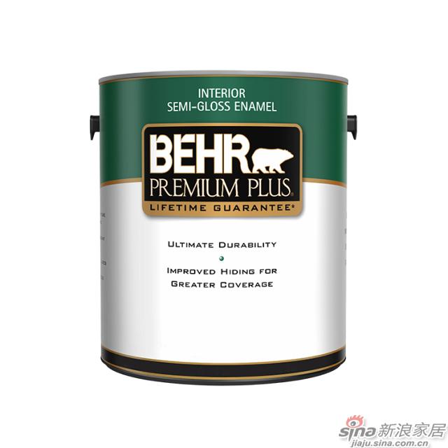 百色熊超级室内半光涂料 1加仑