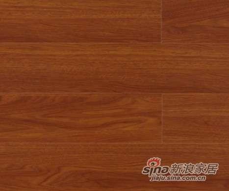 大卫地板中国红-锦绣红系列强化地板DW0008玉蕊木-0