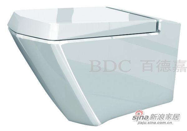 百德嘉陶瓷件连体座便器-H333130-0