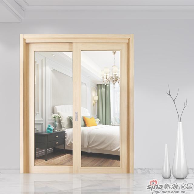 领尚木门LS-M019