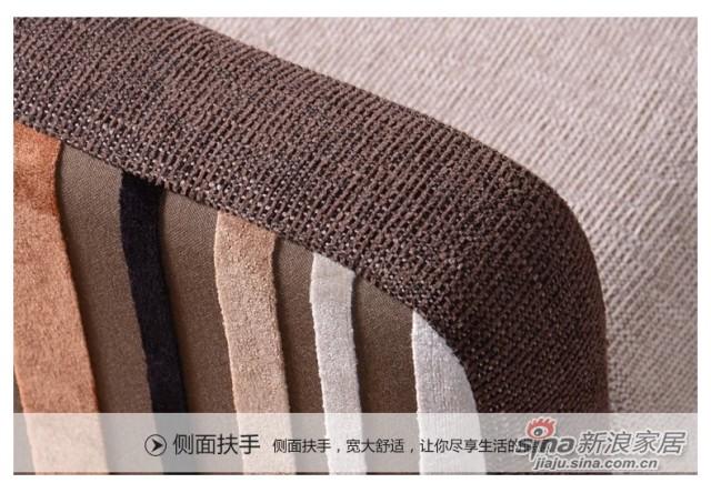 蓝鸟家具 布艺沙发 可拆洗沙发简约现代时尚家居LN-BY-0108-3