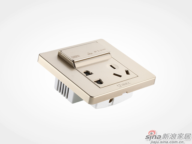 公牛墙壁式3位usb充电插座-4