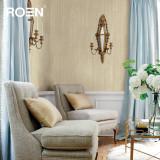 柔然壁纸 木浆纤维底材高级树脂深压纹压花工艺墙纸