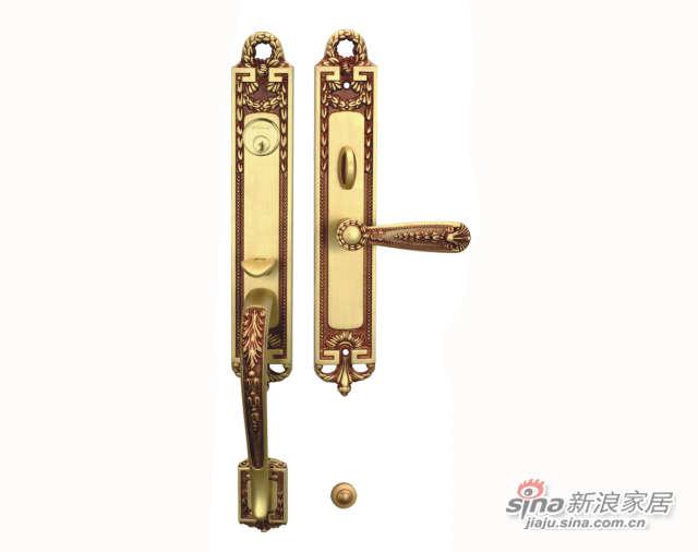 雅洁AS2031-C04-92S2031豪华锁+琥珀铜-0