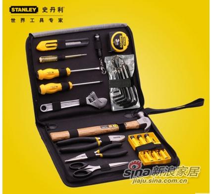 史丹利 27件便携拉链工具包五金工具组合套装-1