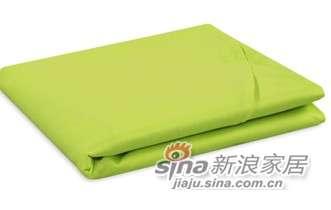 MLILY床上用品特价套件全棉斜纹活性印染炫彩(绿色)床单-0