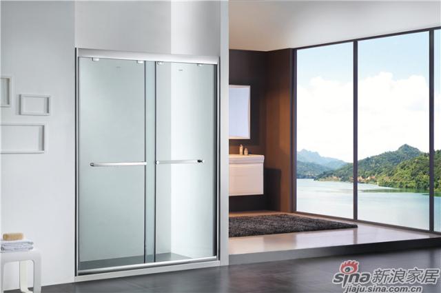 浪鲸卫浴淋浴房LA22-Y22