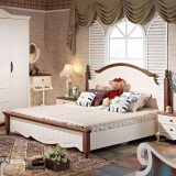 小憨豆家居进口白蜡木卧室大床