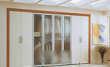 诺雅迦铝框嵌玻璃平开门