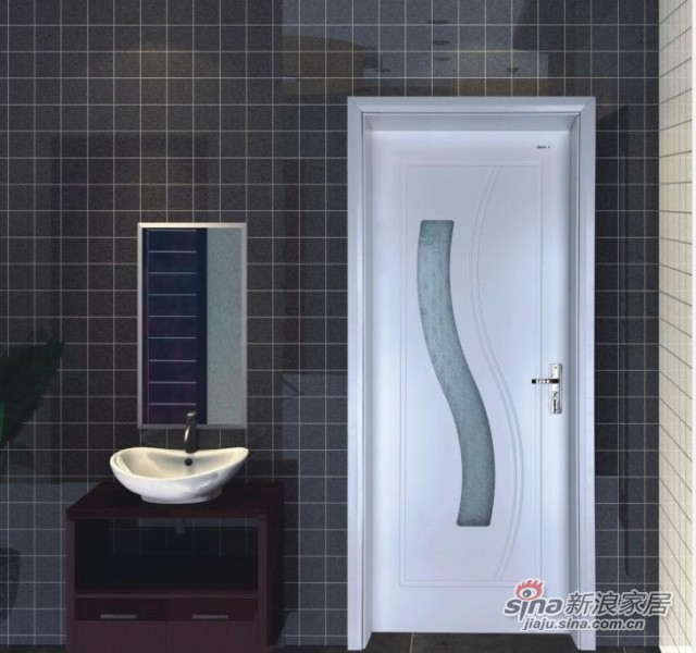 美心门玻璃门系列 3122