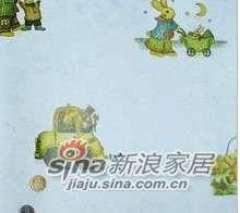 优阁壁纸动物儿童房墙纸灵动系列ld8180