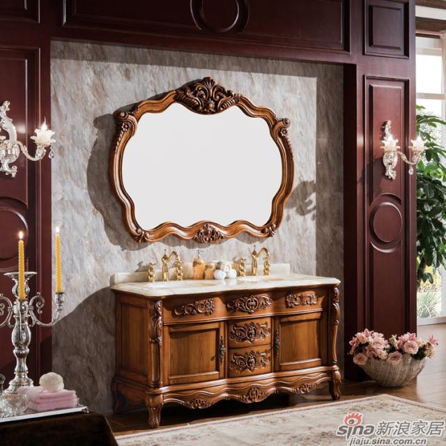 阿洛尼浴室柜-欧式仿古柜-A1625-1
