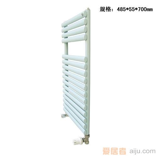 适佳散热器/暖气椭圆卫浴弯接系列:GZTD-450*7002