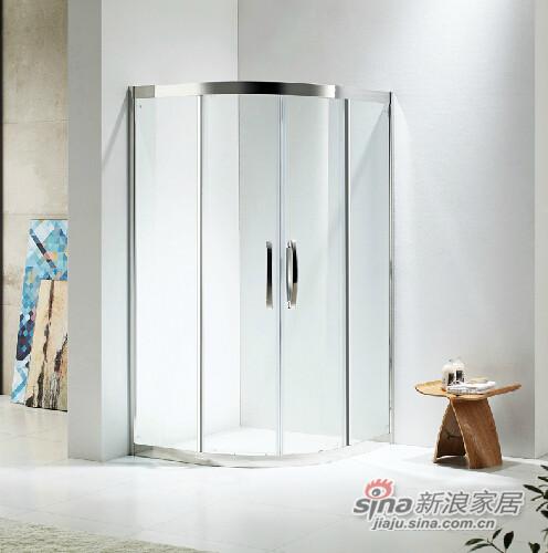 FRAE福瑞 扇型简易淋浴房