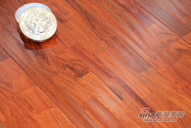 林昌地板--实木系列--实木指接板-亚花梨F9315-0