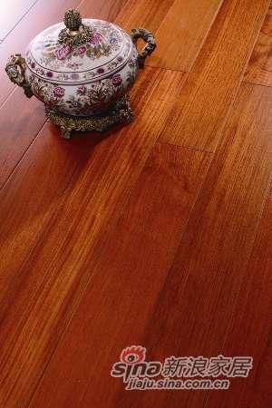 富得利/0.6MM多层实木复合地板柚木FB-0501-06-0
