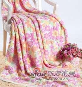 维科家纺珊瑚绒凹凸毯