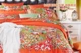 博洋家纺纯棉长绒棉贡缎四件套波斯密语