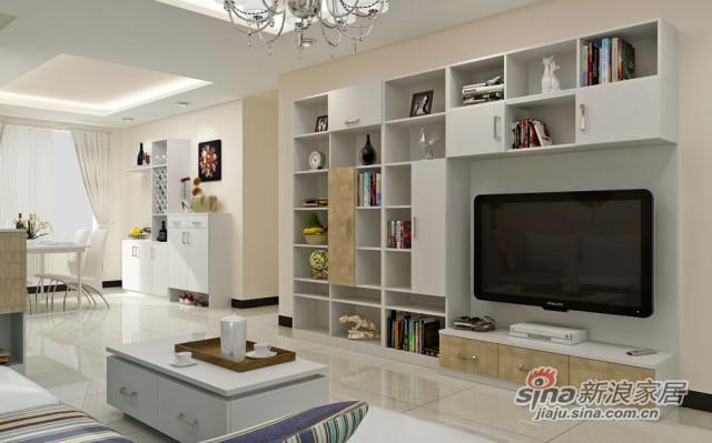 好莱客电视柜简雅―客厅系列-0