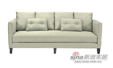 harbor houseCoast 带扶手三人沙发, 全棉小提花-浅绿色 -0