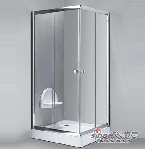 泰陶淋浴房TZ-124(方型)-0