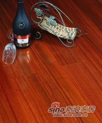 宏鹏地板金铂面防潮实木系列―圆盘豆HP0903-0
