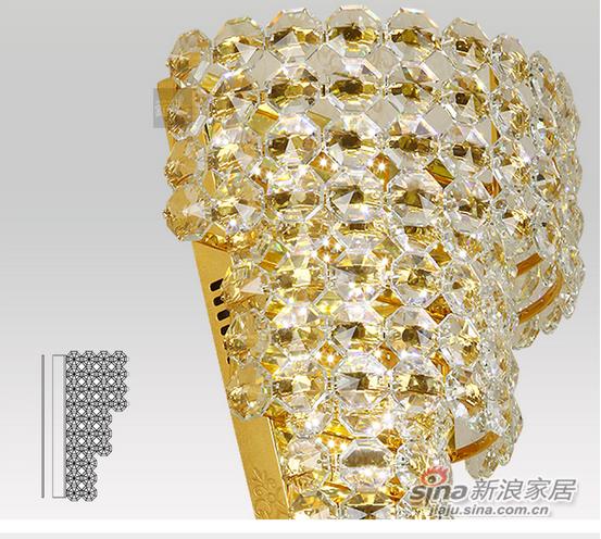 钜豪欧式时尚灯具MB87358 定制 直径220高600-1