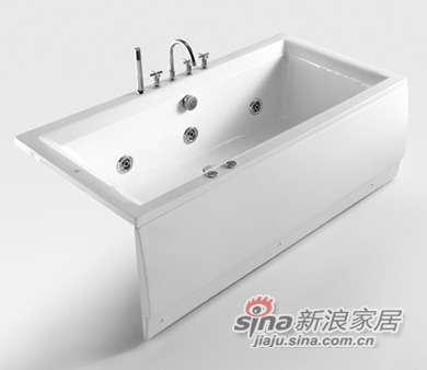 和成卫浴1.7米压克力按摩浴缸 - F1700U-0
