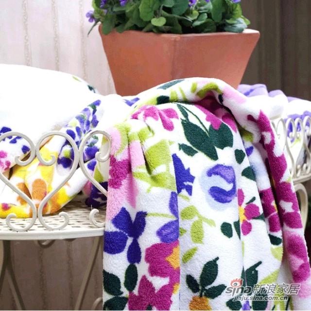梦洁家纺 午睡空调毯子-2