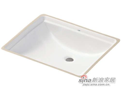 成霖高宝卫浴方形台下盆-0