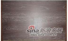 四合地板三层实木复合地板白栎墨纹色 -0