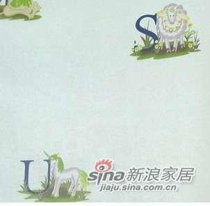 优阁壁纸字母儿童环保墙纸灵动系列ld8133 -0