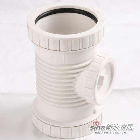 世丰PVC―U消音立管检查口-0