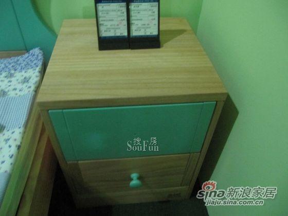 爱心城堡J014-BW1床头柜 -0