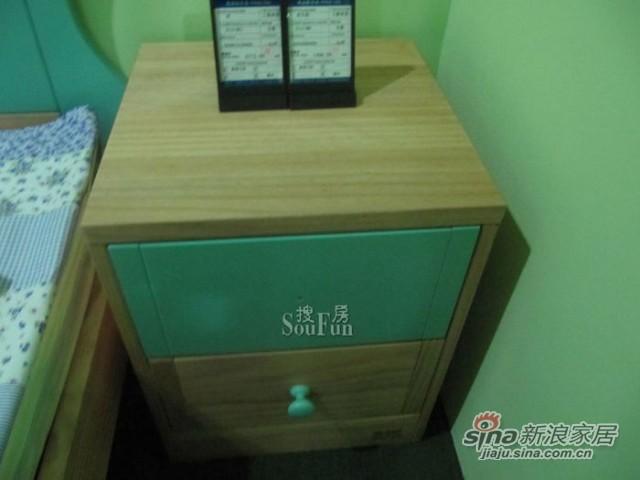 爱心城堡J014-BW1床头柜 -1