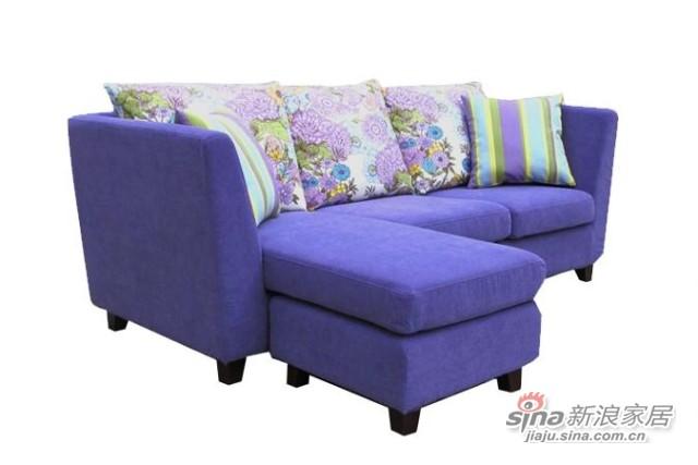 【新干线】布艺可拆洗多功能组合2米宽精品小户型现代简约沙发-1