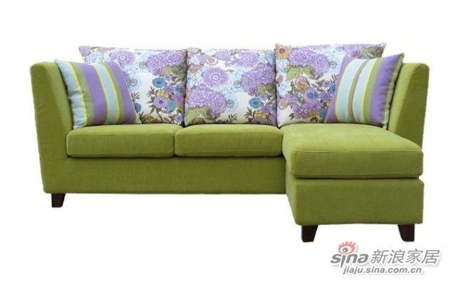 【新干线】布艺可拆洗多功能组合2米宽精品小户型现代简约沙发-2