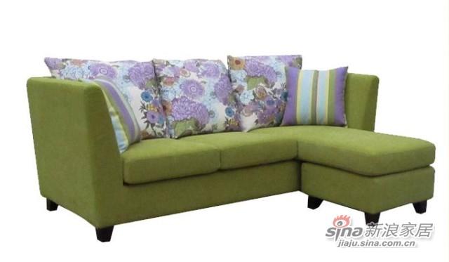 【新干线】布艺可拆洗多功能组合2米宽精品小户型现代简约沙发-3