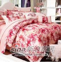 紫罗兰家纺床上用品天鹅绒印花高档磨毛四件套携手VPEM011-4-0
