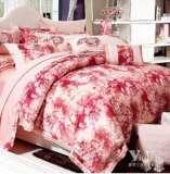 紫罗兰家纺床上用品天鹅绒印花高档磨毛四件套携手VPEM011-4