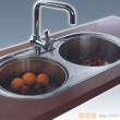 GORLDE优质不锈钢水槽/洗菜池 莱茵系列ET06(双圆盆)