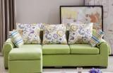 舒曼浅绿小资沙发