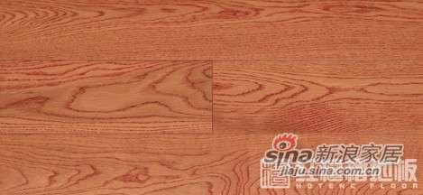 红檀楿地板檀香印象-栎木HS-PY25