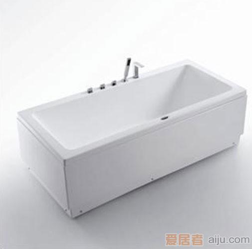 法恩莎五件套压克力浴缸FW002Q(1795*800*610mm)1