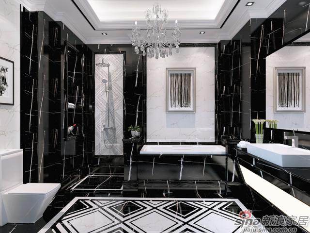特地大理石瓷砖-劳伦特黑-1