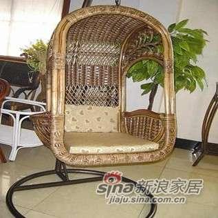 凰家御器藤华那吊椅摇椅休闲椅太阳椅藤家具NH-Y031-0